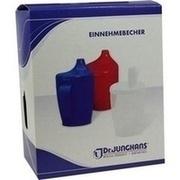 EINNEHMEBECHER m.Griff+2 Deckel 4+12mm