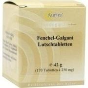 FENCHEL GALGANT Lutschtabl. Aurica
