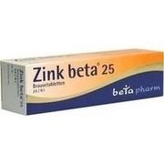 ZINK BETA 25 Brausetabletten