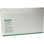 GAZIN Mullkomp.7,5x7,5 cm steril 12fach mittel