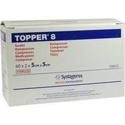 TOPPER 8 Kompr.5x5 cm steril