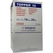 TOPPER 12 Kompr.10x20 cm steril