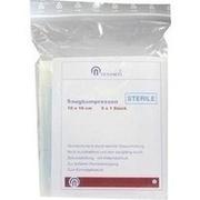 SAUGKOMPRESSEN steril 10x10 cm