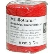 BORT StabiloColor Binde 6 cm rot