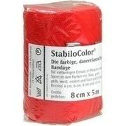 BORT StabiloColor Binde 8 cm rot