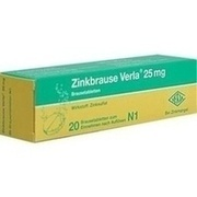ZINKBRAUSE Verla 25 mg Brausetabletten
