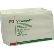 VLIWASOFT Vlieskompressen 10x10 cm unsteril 6l.