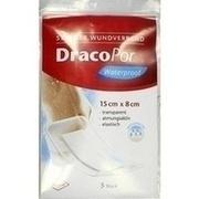 DRACOPOR waterproof Wundverband 8x15 cm steril