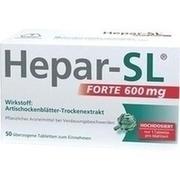 HEPAR-SL forte 600 mg \u25berzogene Tabletten