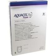 AQUACEL Ag Foam adhäsiv Ferse 19,8x14 cm Verband