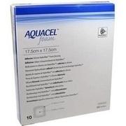 AQUACEL Foam adhäsiv 17,5x17,5 cm Verband
