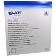 AQUACEL Foam adhäsiv 21x21 cm Verband
