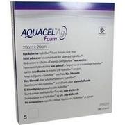 AQUACEL Ag Foam nicht adhäsiv 20x20 cm Verband