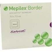 MEPILEX Border Schaumverband 7,5x7,5 cm