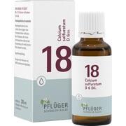 BIOCHEMIE Pflüger 18 Calcium sulfuratum D 6 Tropf.