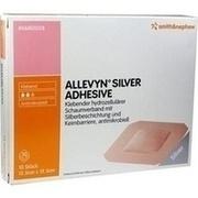 ALLEVYN Silver Adhesive 12,5x12,5 cm Schaumverband