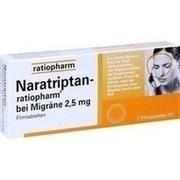 NARATRIPTAN-ratiopharm bei Migräne Filmtablette