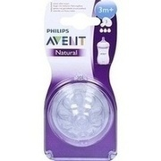 AVENT Sauger Naturnah 3 Mon.+