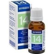 BIOCHEMIE Globuli 14 Kalium bromatum D 12