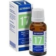 BIOCHEMIE Globuli 17 Manganum sulfuricum D 12