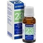 BIOCHEMIE Globuli 23 Natrium bicarbonicum D 12
