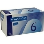 NOVOFINE 6 Kanülen 0,25x6 mm 31 G