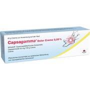 CAPSAGAMMA Dolor Creme 0,05%