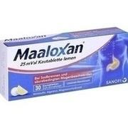 MAALOXAN 25 mVal Kautabletten lemon