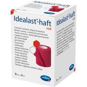 IDEALAST-haft color Binde 8 cmx4 m rot