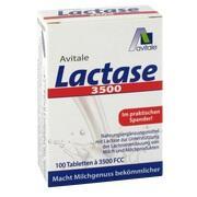 LACTASE 3.500 FCC Tabletten im Klickspender