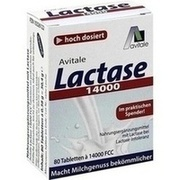 LACTASE 14.000 FCC Tabletten im Spender