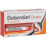 DOBENDAN Direkt zuckerfrei Flurbiprofen 8,75mg LT