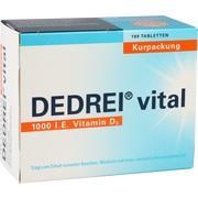 DEDREI vital Tabletten Kurpackung