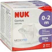 NUK Schnuller Genius Silikon steril 0-2 Monate