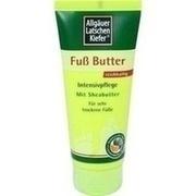 ALLGÄUER LATSCHENK. Fuß Butter Creme