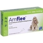 AMFLEE 134 mg Spot-on Lsg.f.mittelgr.Hunde 10-20kg