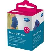 PEHA-HAFT Color Fixierbinde latexf.6 cmx4 m blau