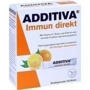 ADDITIVA Immun direkt Sticks 20 St