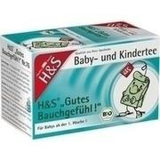 H&S Bio Baby- u.Kindertee Gutes Bauchgefühl Fbt