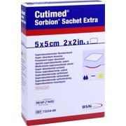 SORBION Cutimed Sachet Extra Wundaufl.5x5 cm