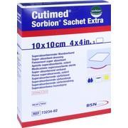 CUTIMED Sorbion Sachet Extra Wundaufl.10x10 cm