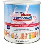 HANSEPHARM Power Eiweiß plus Himbeere-Vanille Plv.