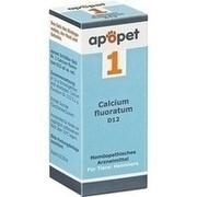 APOPET Schüßler-Salz Nr.1 Calcium fluor.D 12 vet.