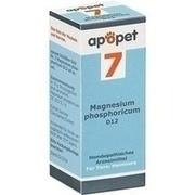 APOPET Schüßler-Salz Nr.7 Magnesium phos.D 12 vet.