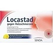 LOCASTAD gegen Halsschmerzen Honig-Zitrone Lut.-T.