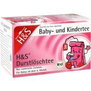 H&S Bio Baby- u.Kindertee Durstlöschtee Filterb