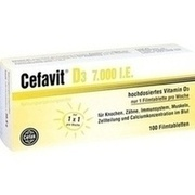 CEFAVIT D3 7.000 I.E. Filmtabletten