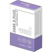 CARE S Plus mit Vitamin D Tabletten