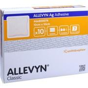 ALLEVYN Ag Adhesive 10x10 cm Wundverband
