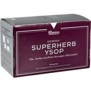 SIDROGA Superherb Ysop Filterbeutel